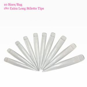 Extra Long Clear Nail Tips